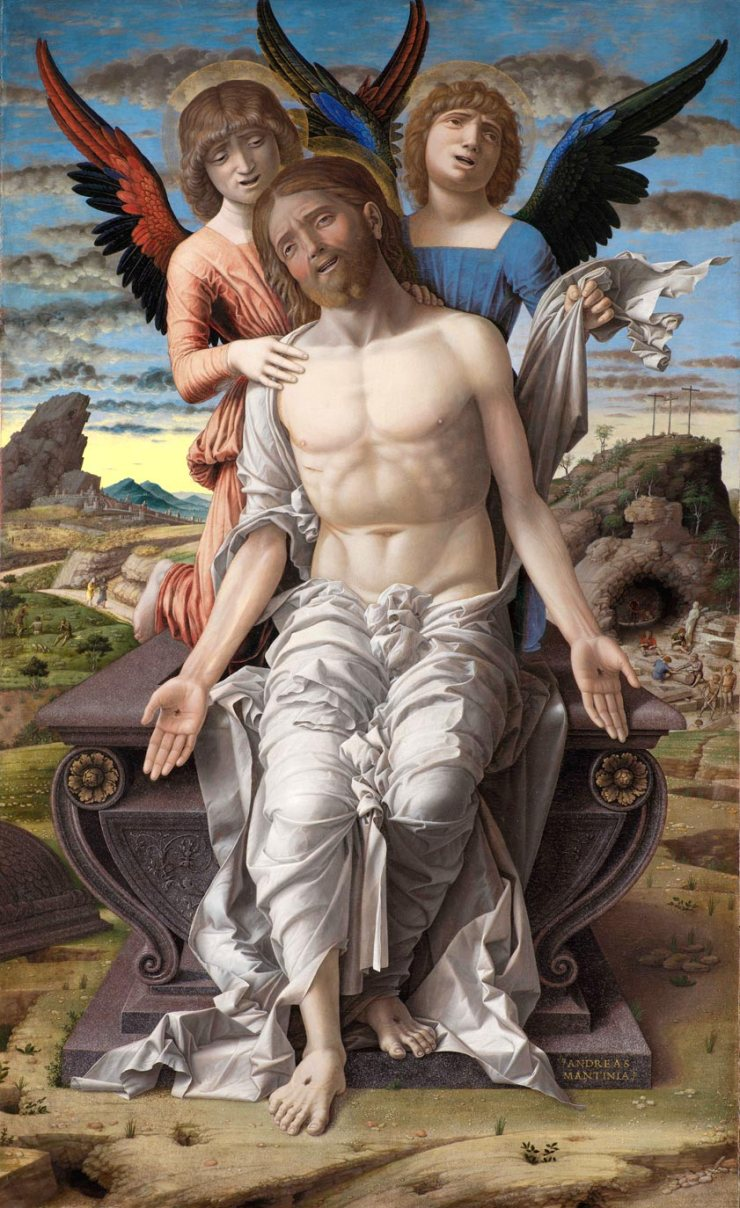 Christ, Man of Sorrows by Mategna
